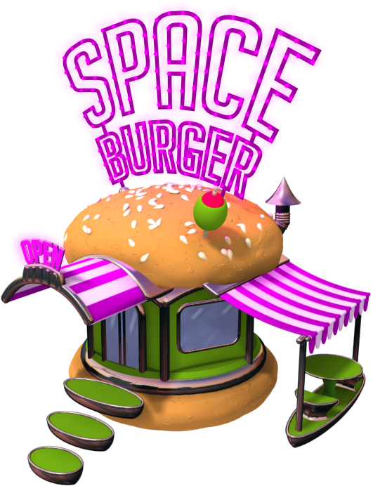 Space corporation chicken invaders. Meal clipart burger meal