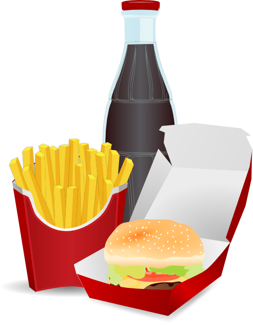 Meal clipart burger meal. Hamburger menu i royalty