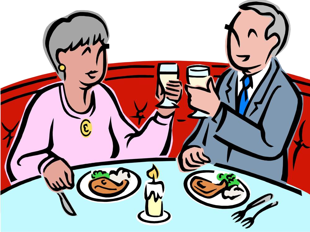 Restaurants clipart couple dining. Online payment broward county