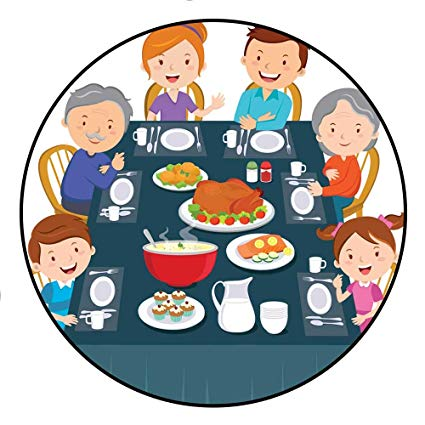 Meal clipart family style dining. Amazon com girls rooms