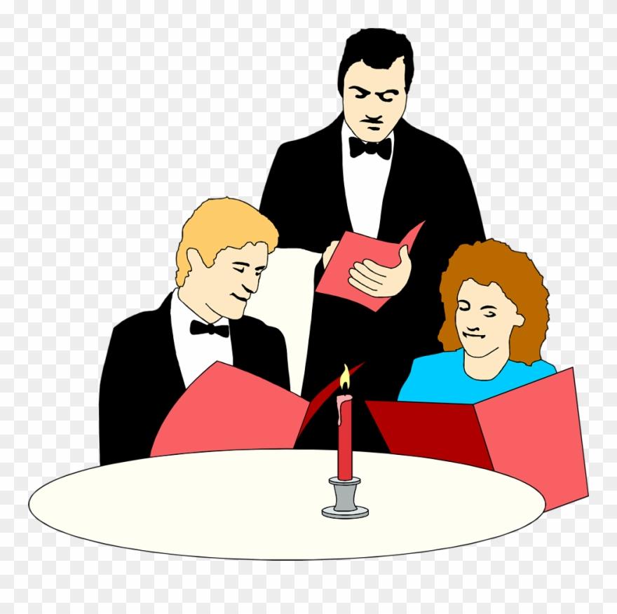 Meal fancy restaurant waiter. Restaurants clipart order food