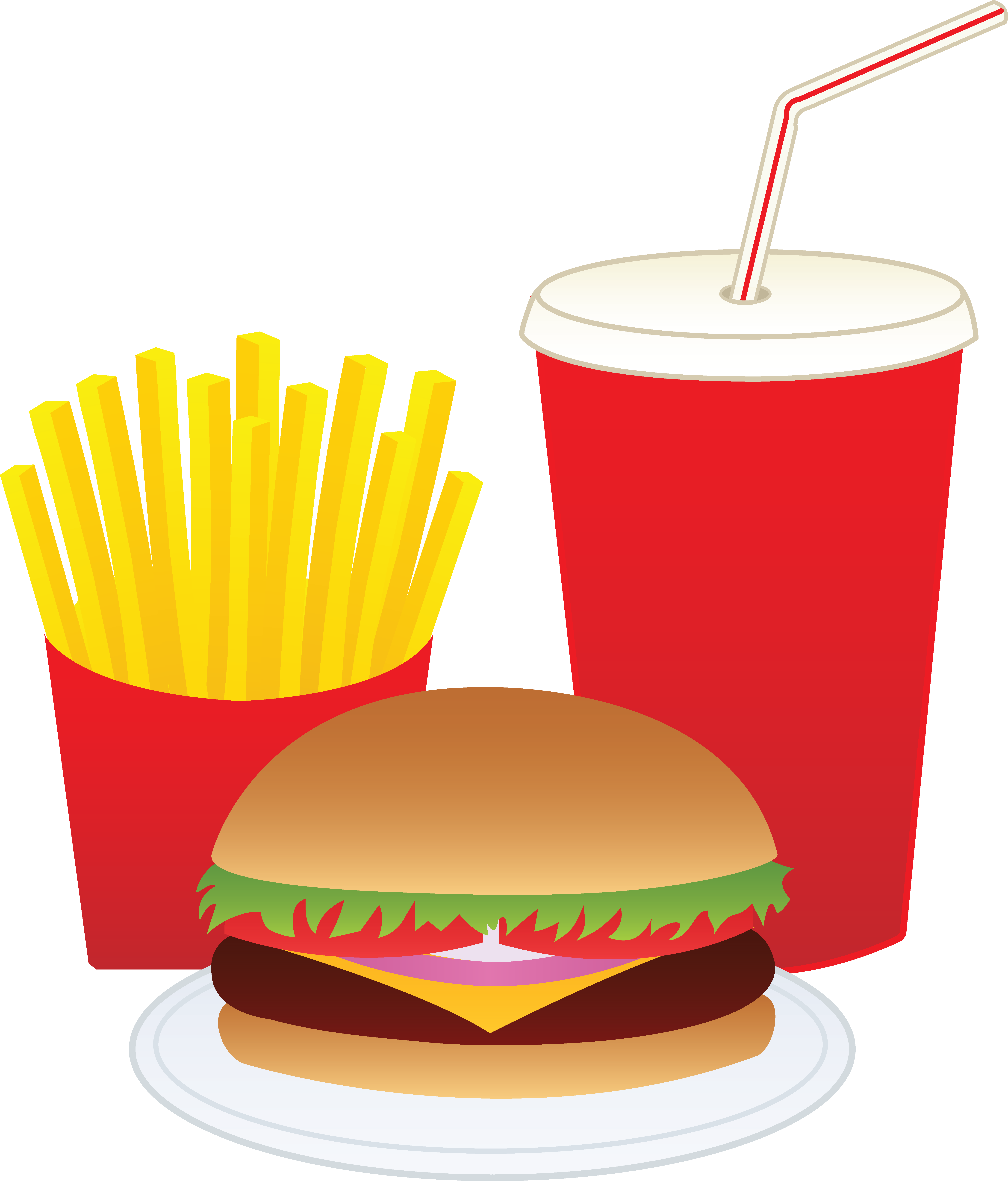 Free cowboy food cliparts. Fries clipart drink