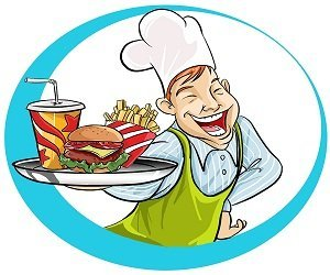 Waitress clipart service industry. Waiter training guide learn