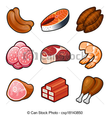 Meat clipart. Free panda images meatclipart