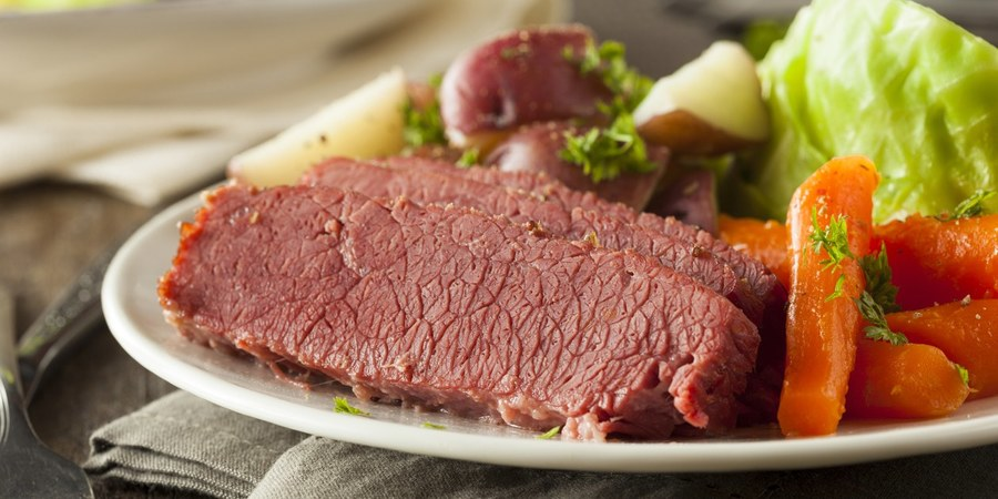 Download cabbage and potatoes. Meat clipart corned beef