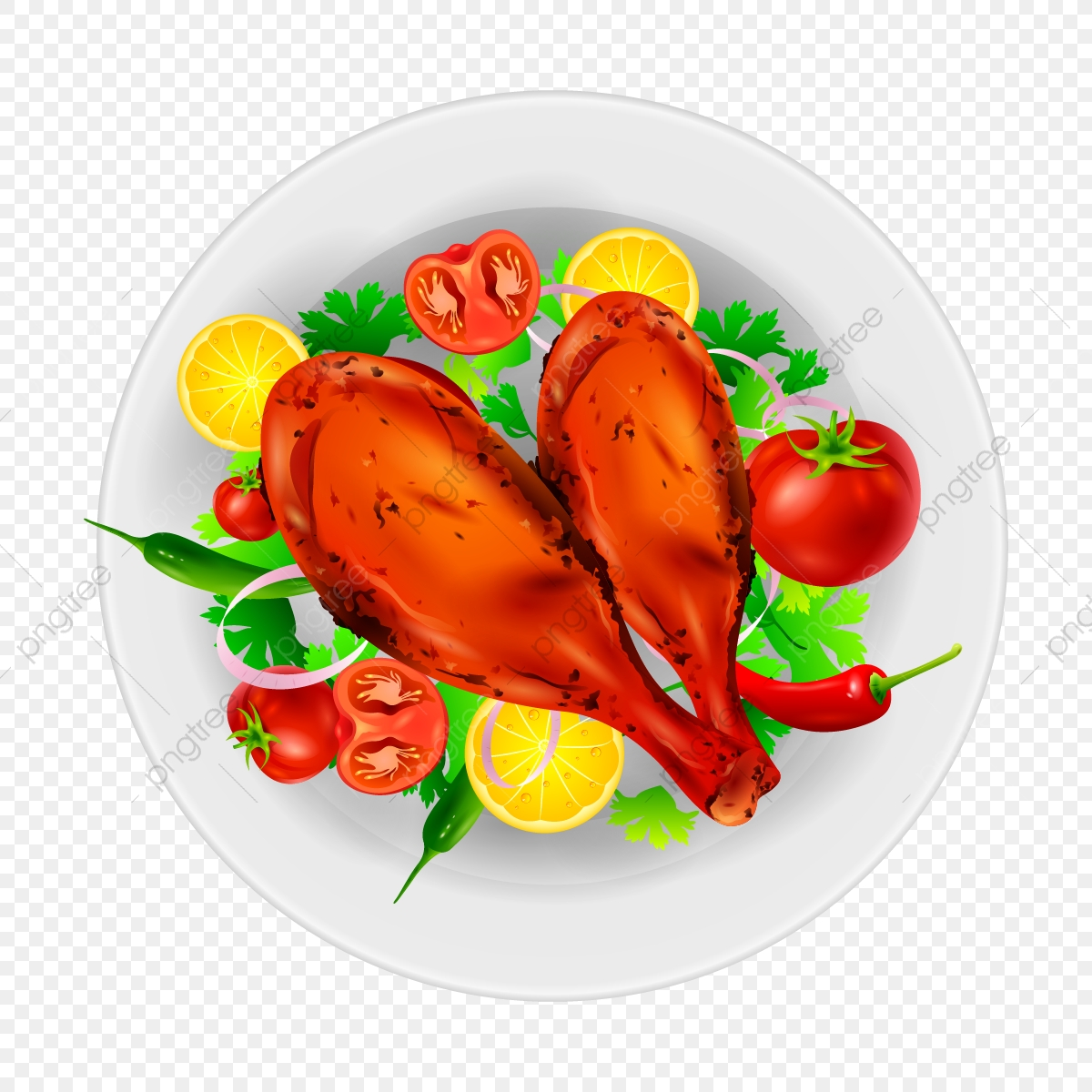 Meat clipart non veg food. With vegitables foods dish