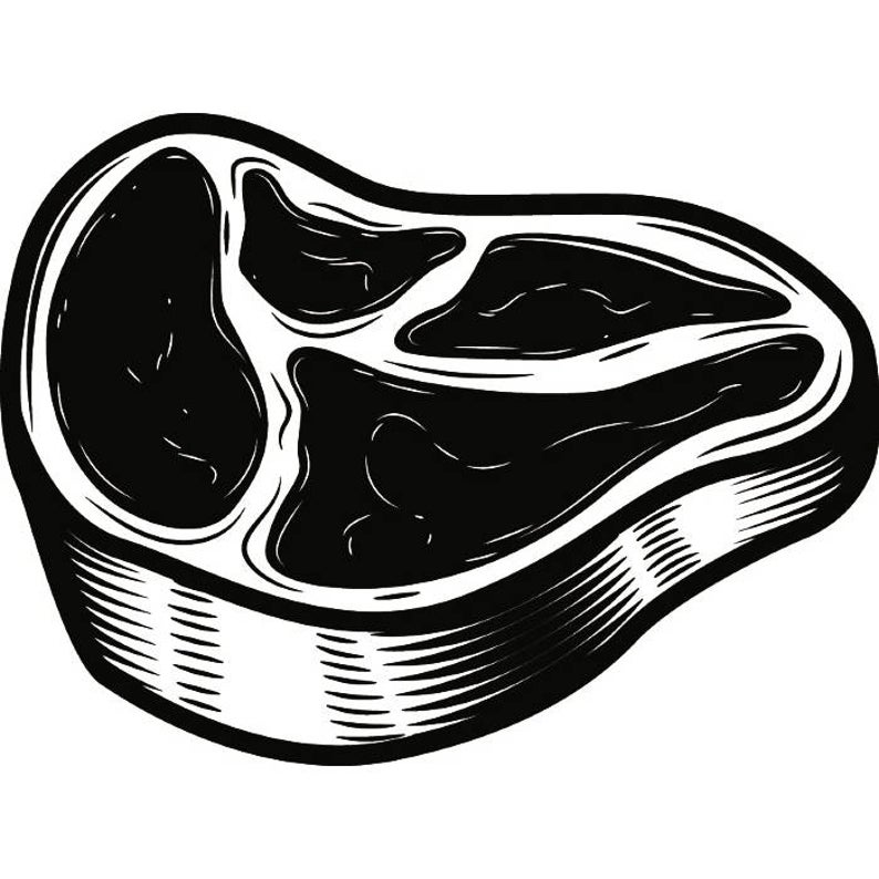 Meat clipart svg. Beef food red barbecue