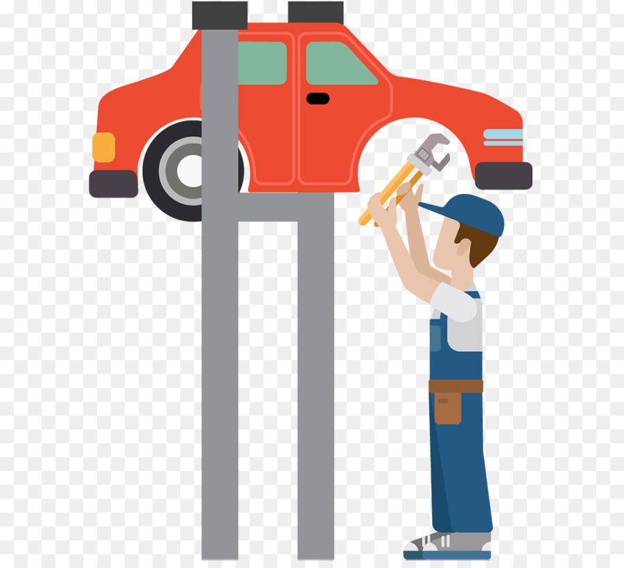Car auto maintenance automobile. Mechanic clipart