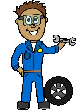 Mechanic clipart. Community helpers bundle the