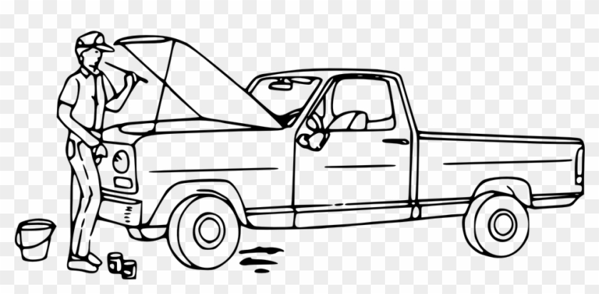 Mechanic clipart black and white. Auto png