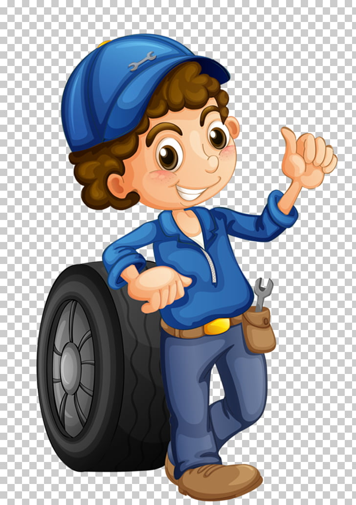 Mechanic clipart cartoon character. Car auto female illustration
