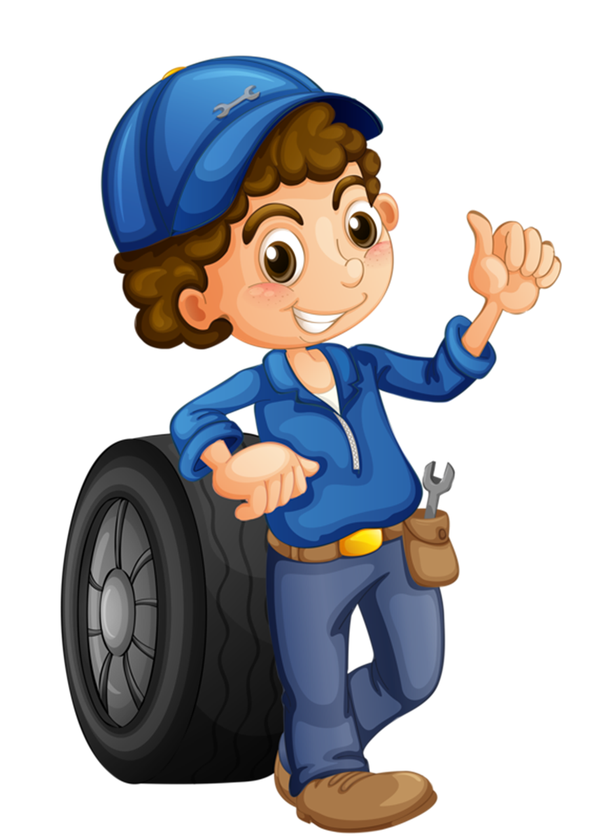 Mechanic clipart female mechanic. Car auto illustration maintenance