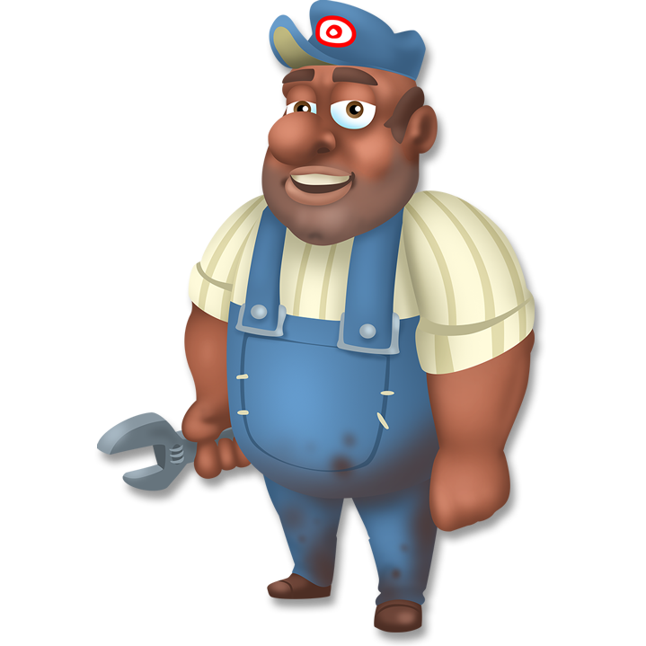 Image png hay day. Mechanic clipart happy customer