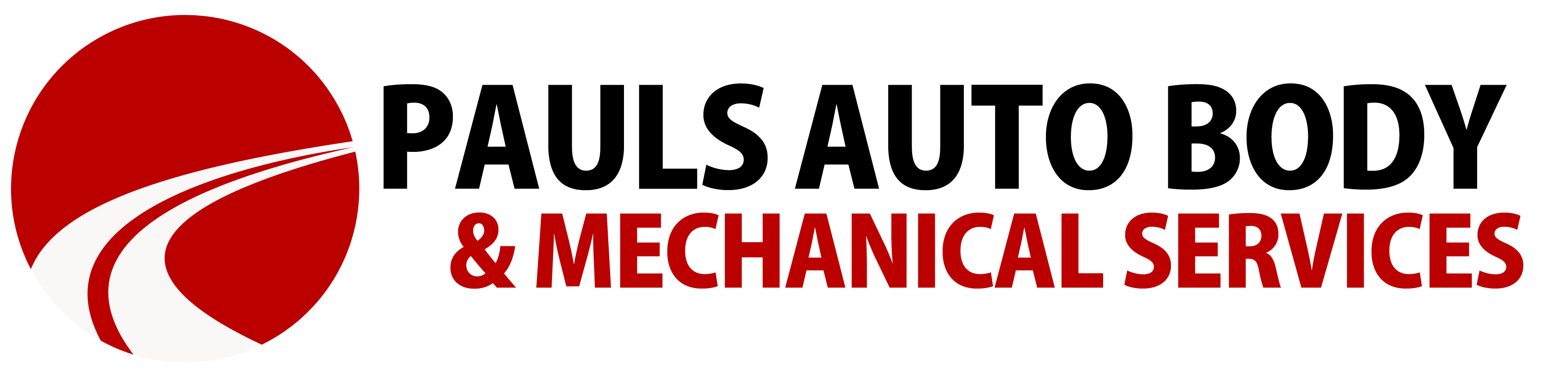 Pauls auto body glass. Mechanic clipart logo