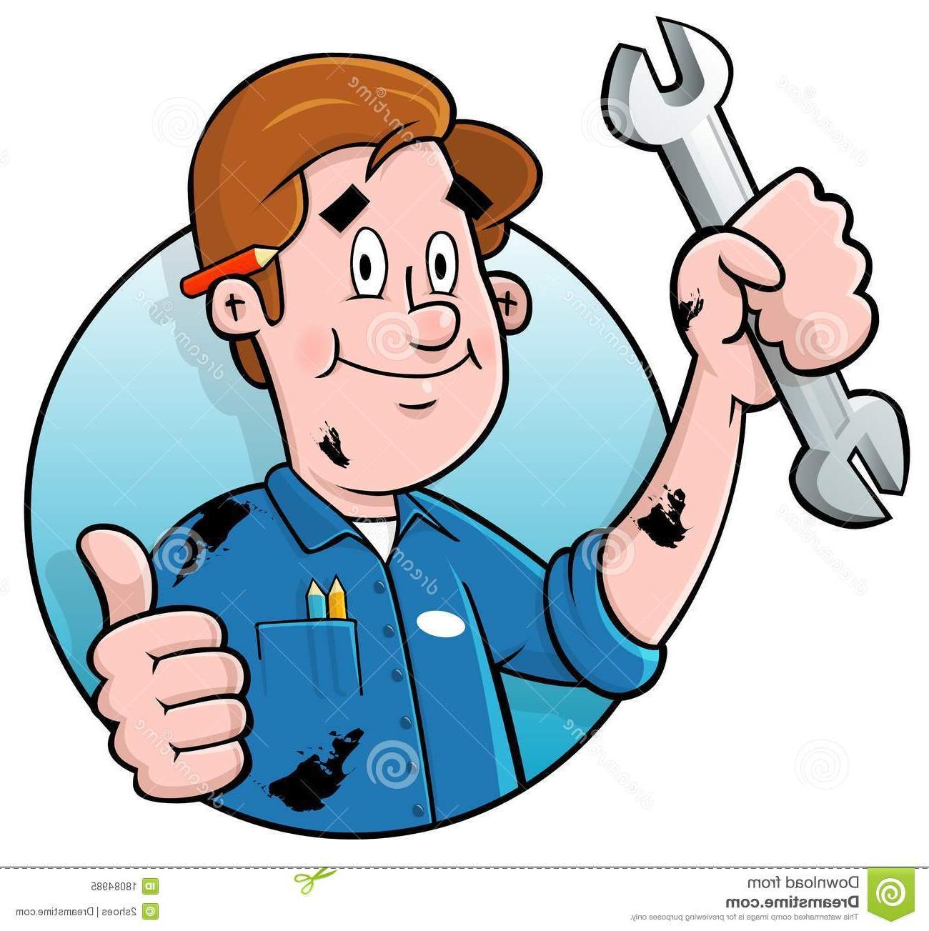 Mechanic clipart logo. Free download best