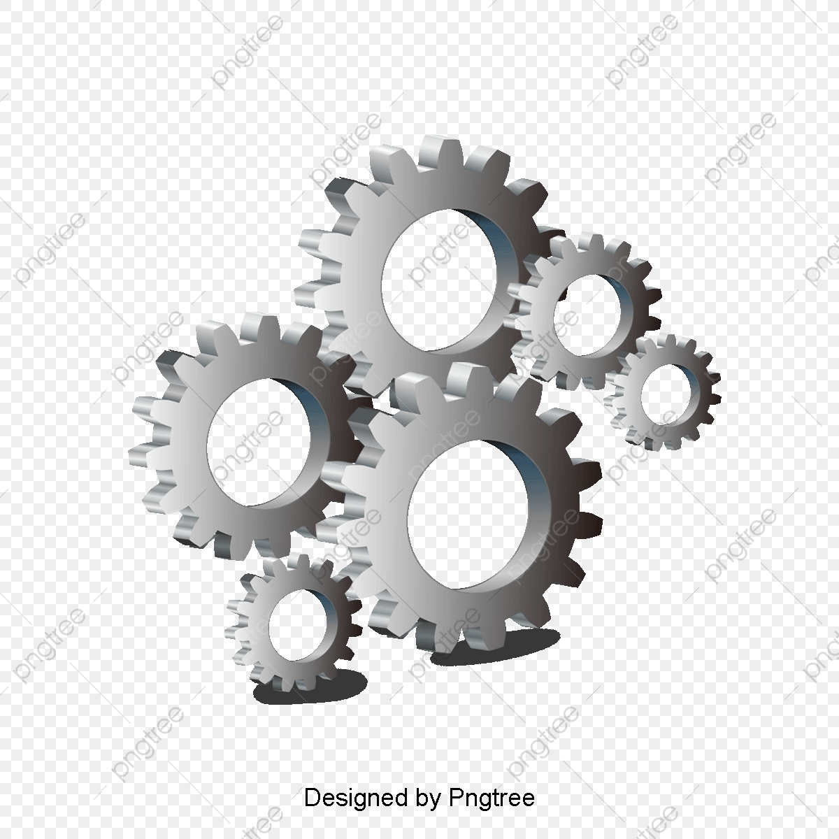Mechanical mechanics rotate png. Mechanic clipart many gear
