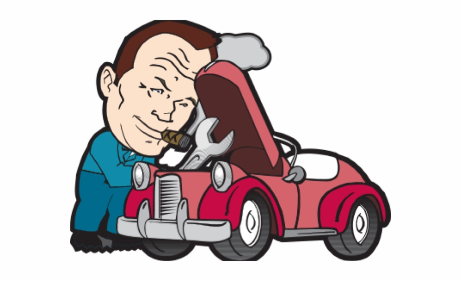 Mechanical auto shop animation. Mechanic clipart mecanic