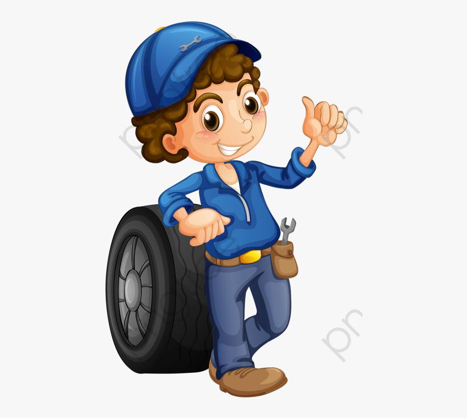 Boy png free . Mechanic clipart mechanical work