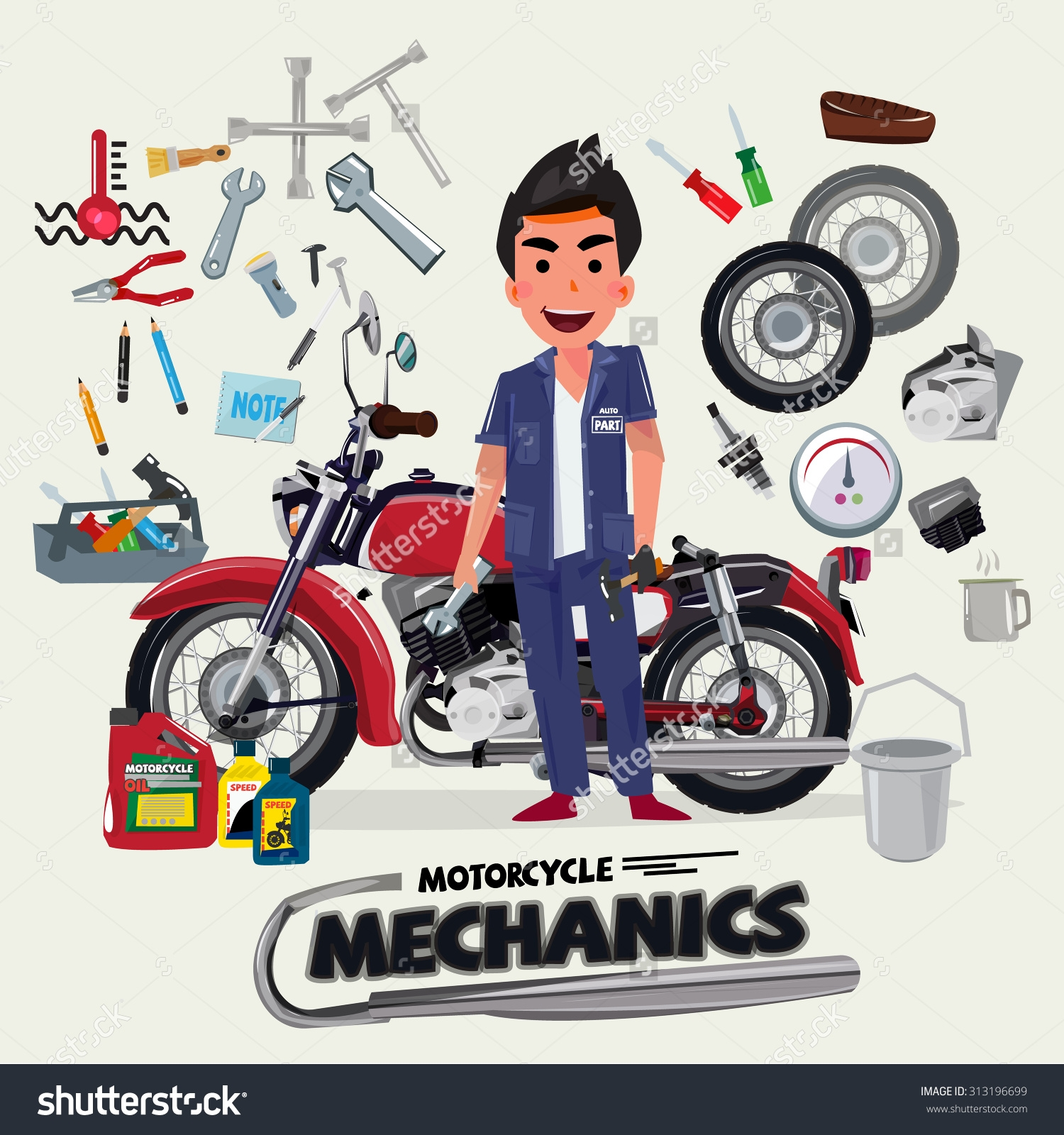 Free service cliparts download. Motorcycle clipart motorcycle repair