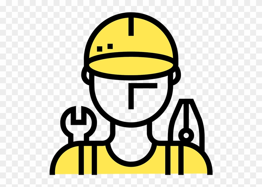 Icon technician png transparent. Mechanic clipart skilled