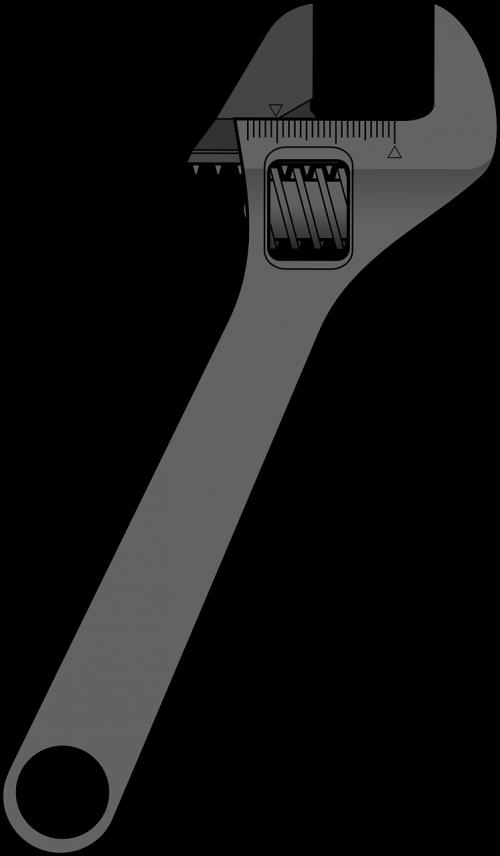 Mechanic clipart socket wrench. Spanner tool repair industry