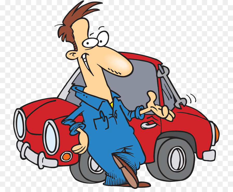 Mechanic clipart vehicle repair. Cartoon car transparent clip