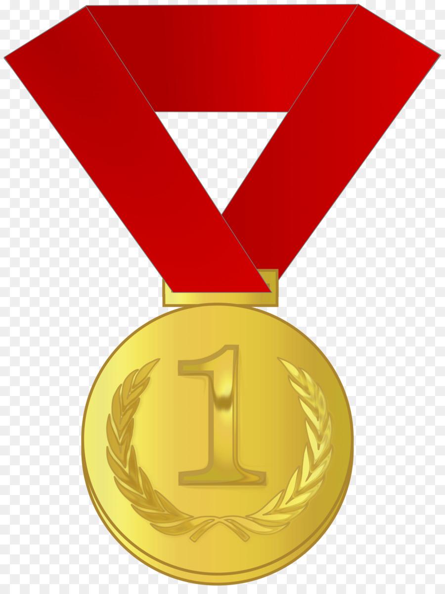 Medal clipart. Gold award silver clip