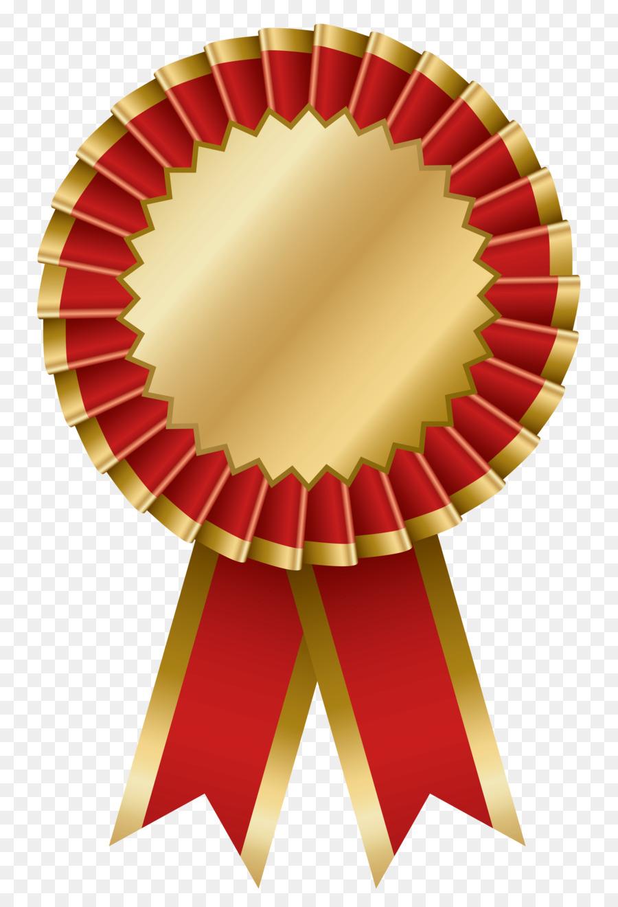 Ribbon gold clip art. Medal clipart