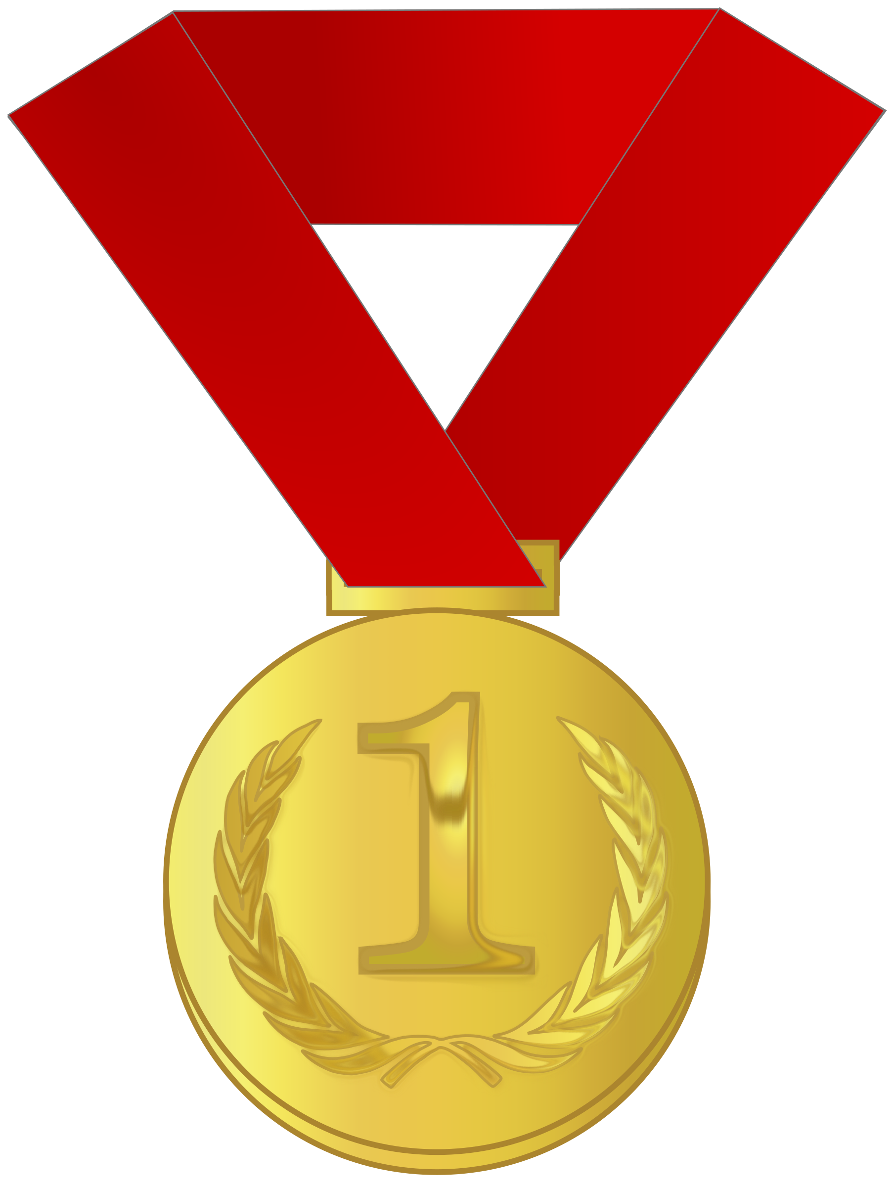 Medal clipart. Gold station