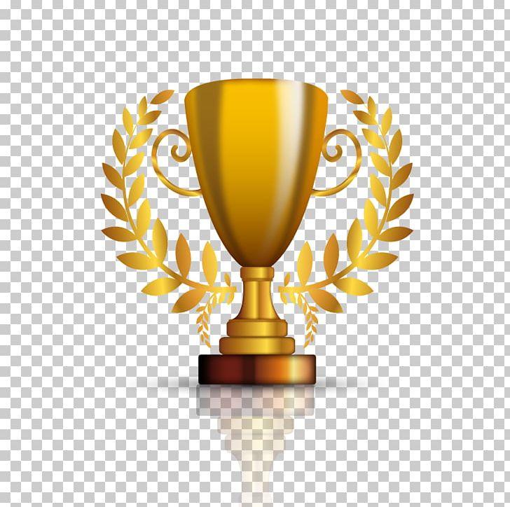 Medal clipart achievement. Trophy gold award prize