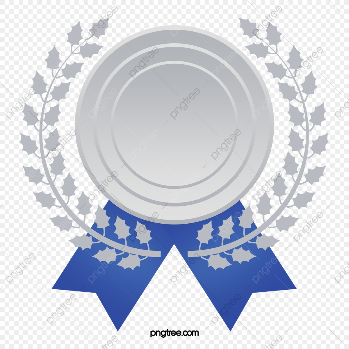 Medal clipart blue. Medals silver png