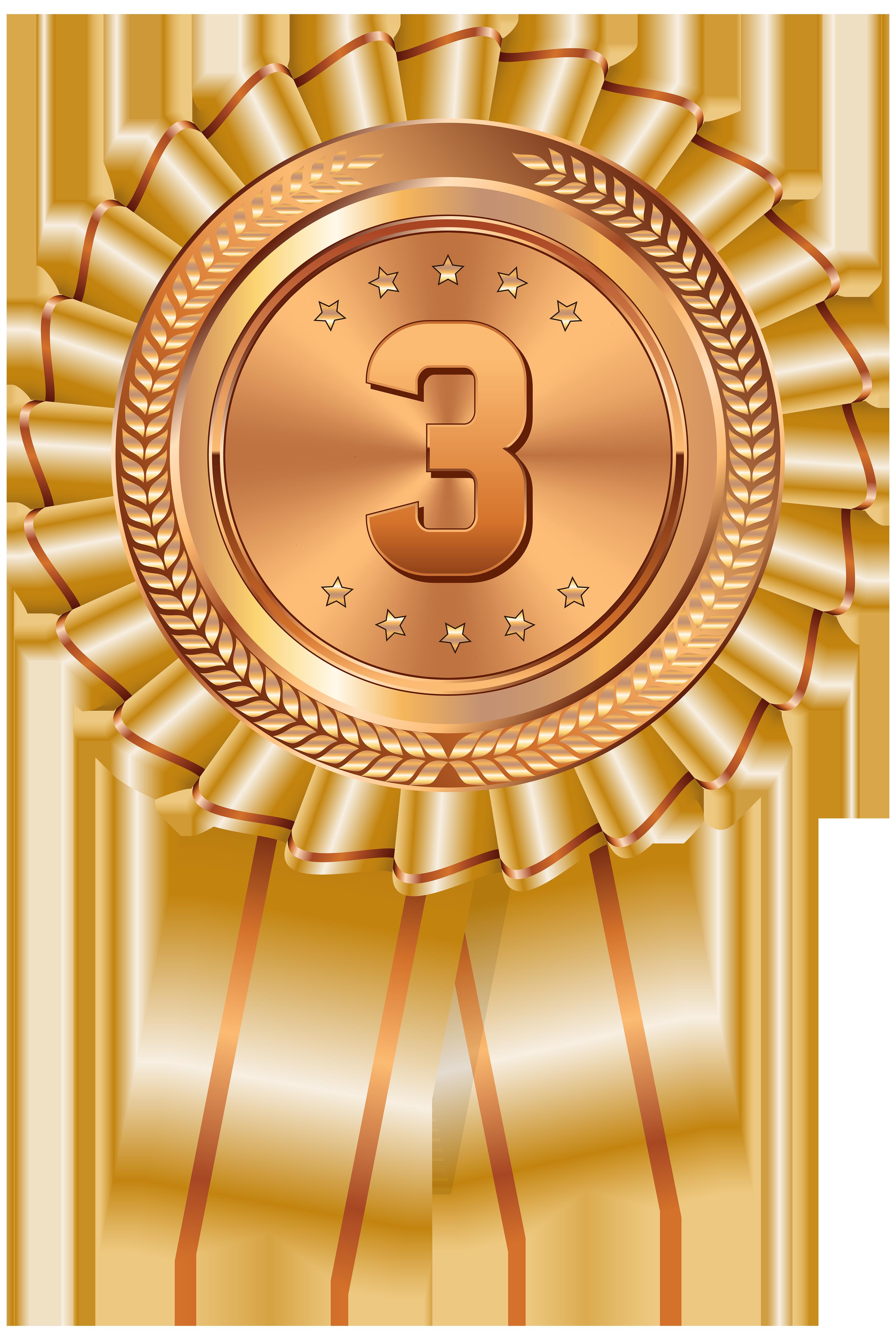 Transparent png clip art. Medal clipart bronze