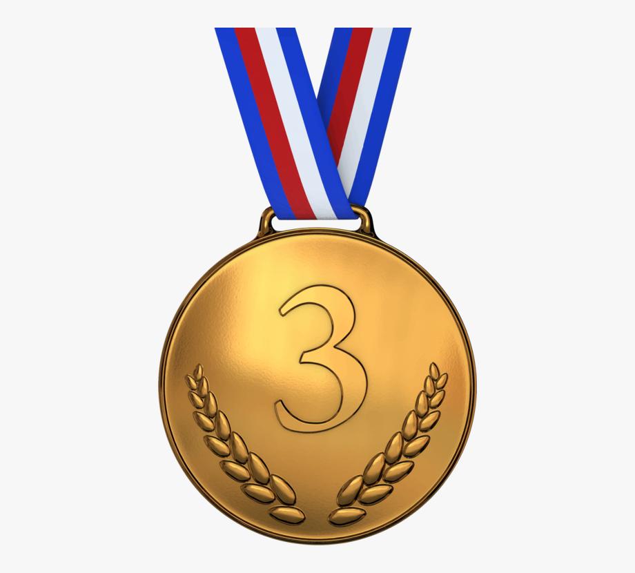 Gold silver transparent . Medal clipart bronze