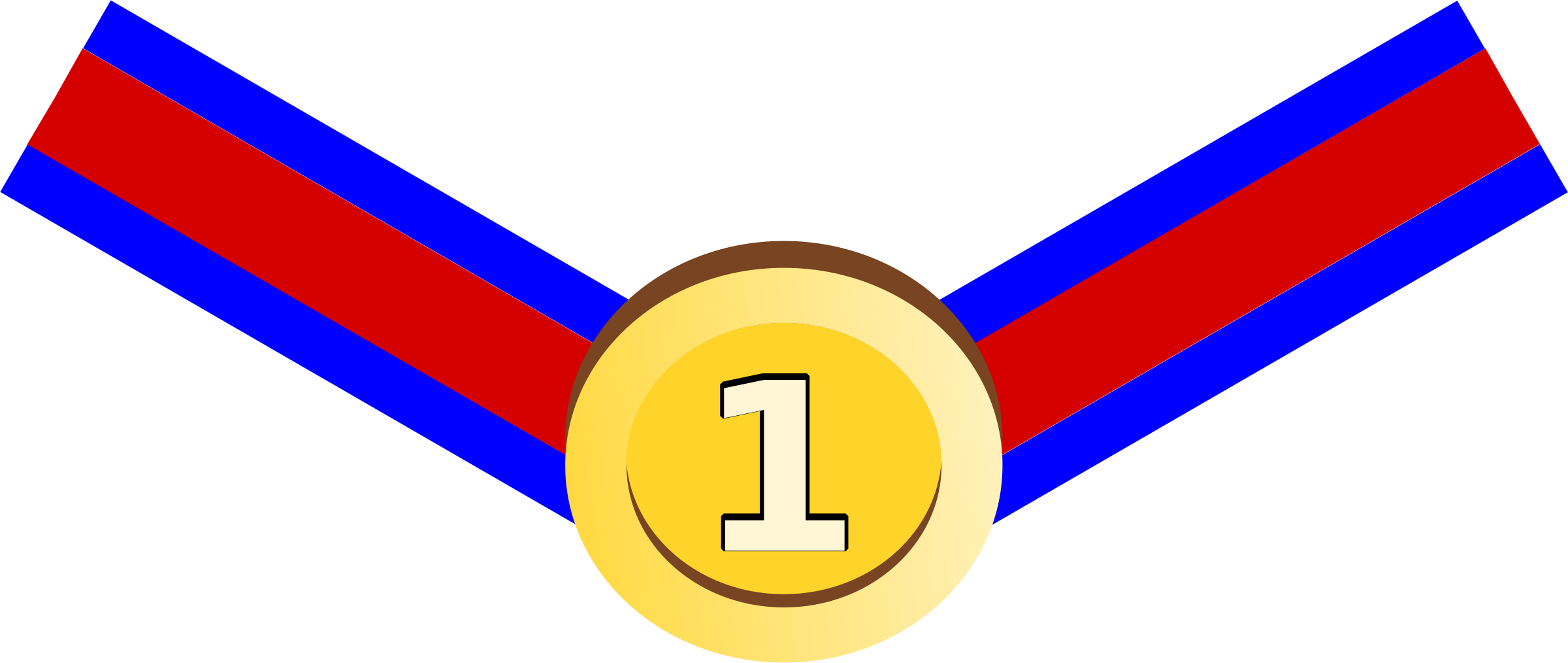 Number 1 clipart medal.  collection of high