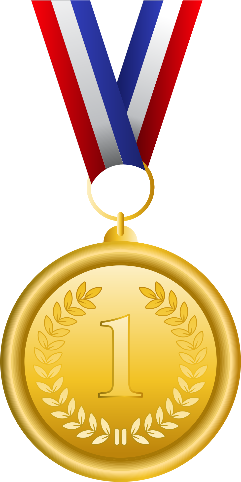Gold bronze clip art. Torch clipart olympic medal