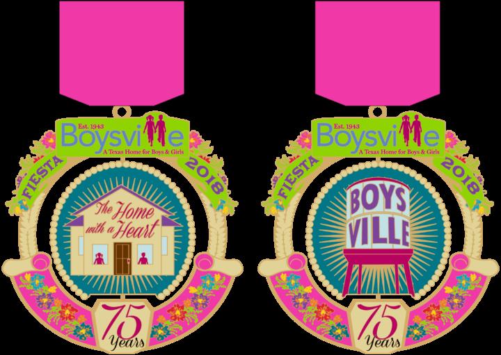 Medal clipart pink. Purchase a fiesta boysville