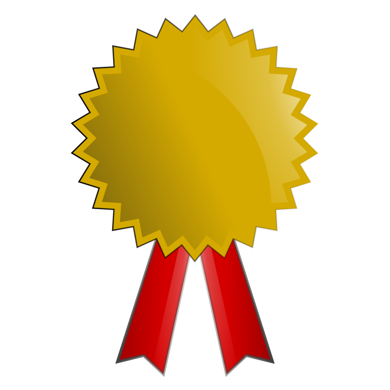 Medal platinum