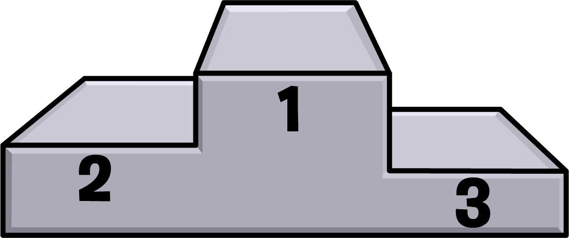 podium clipart race podium