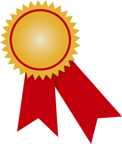 Medal clipart red. Download gold free png