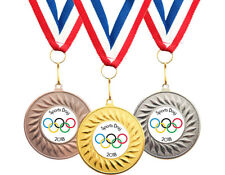 Medal clipart sports day. Medals and ribbons ebay