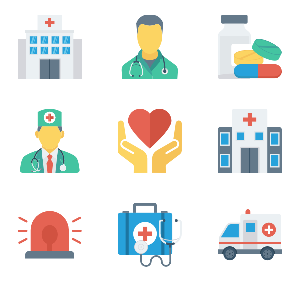 Medical clipart health. Free icons svg eps