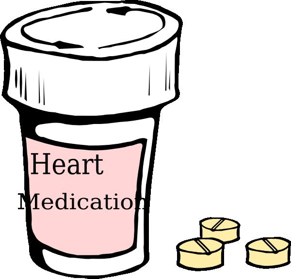 Medication clip art at. Medical clipart heart