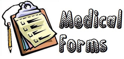Medical clipart medical form. Smith ginger forms