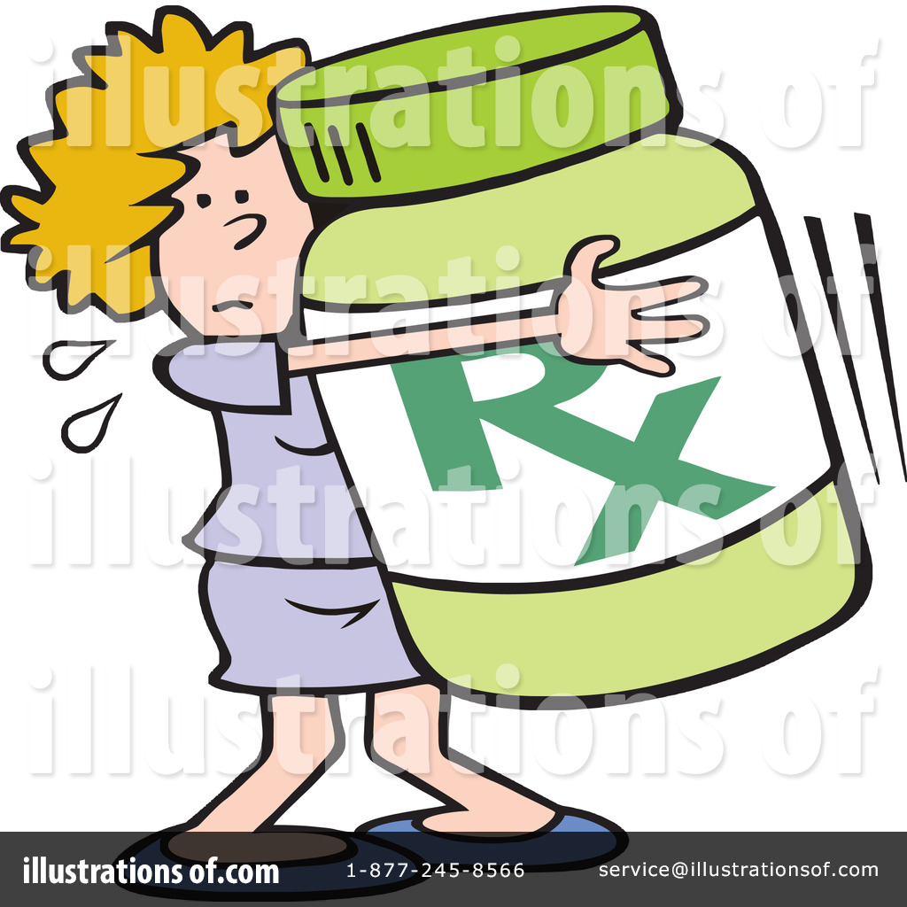 Illustration by johnny sajem. Medication clipart
