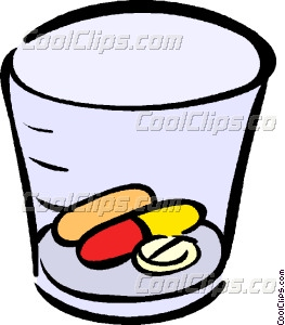 Medication clipart. Vector clip art