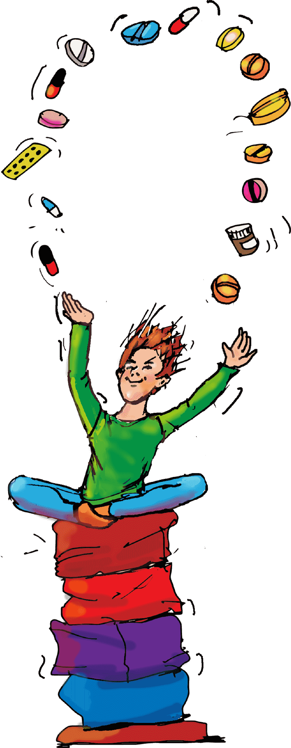 Medication clipart happy pill. Childhood adhd meditation or