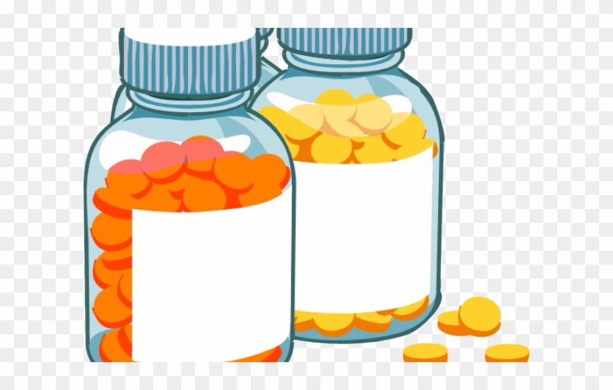 Pill bottle medicine and. Medication clipart medication log
