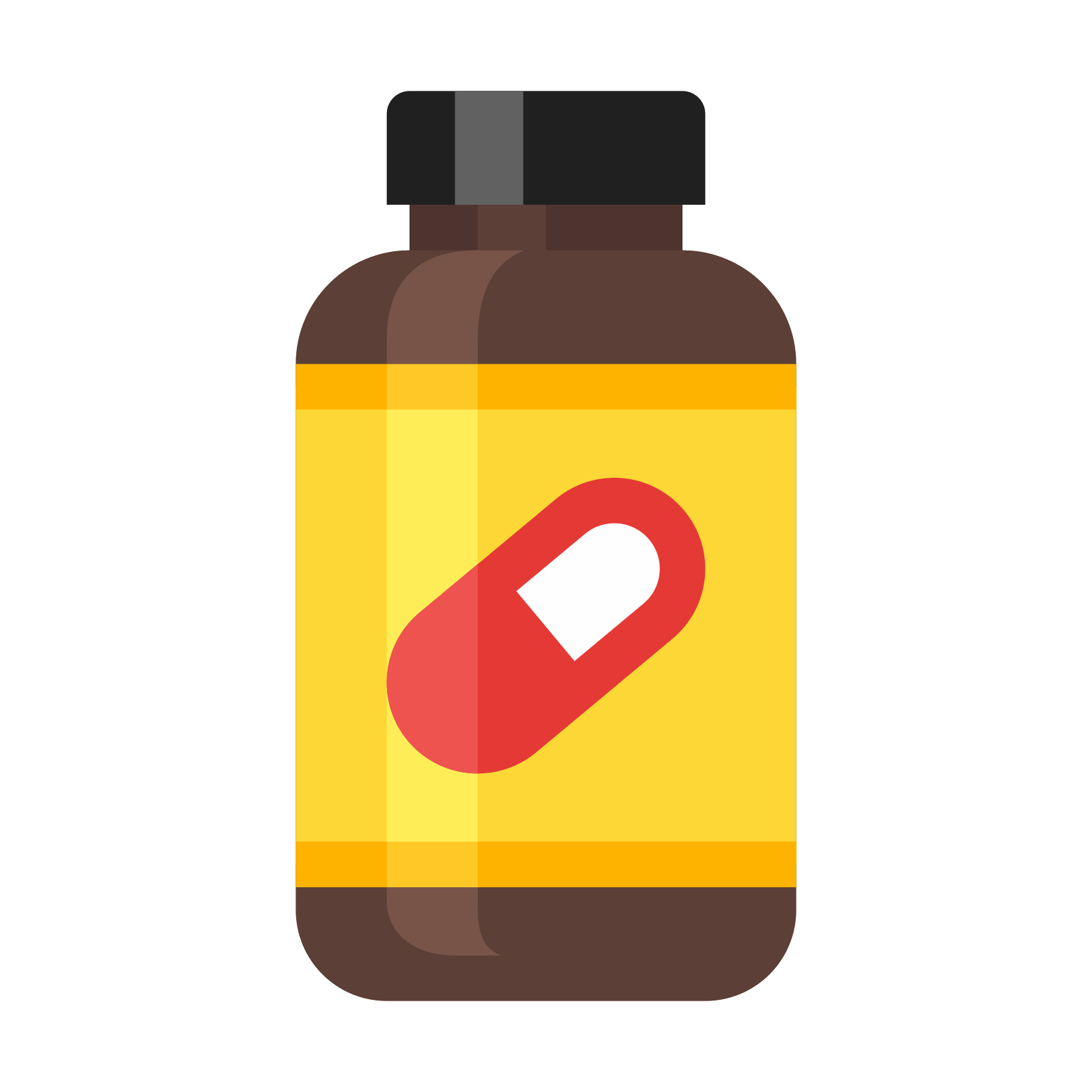 Pill supplement icono descarga. Medicine bottle png