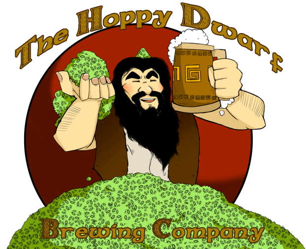 The hoppy dwarf brewing. Medicine clipart food preservative