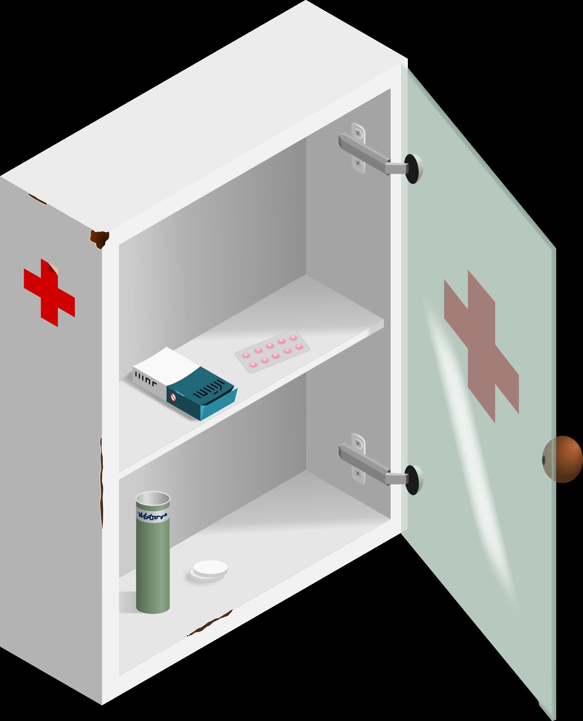Pill medicine box